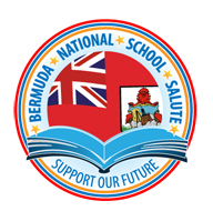 Bermuda National School Salute Retina Logo